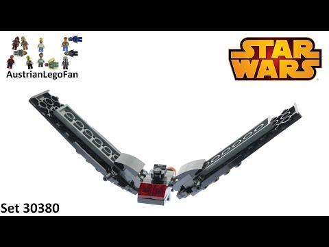 Vidéo LEGO Star Wars 30380 : Kylo Ren's Shuttle (Polybag)