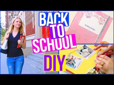DIY BACK TO SCHOOL Planer, Collegeblock & Organisation - TheBeauty2go