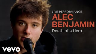 "Alec Benjamin - ""Death of a Hero"" Official Performance | Vevo"