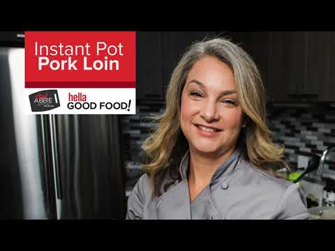 Instant Pot Pork Tenderloin
