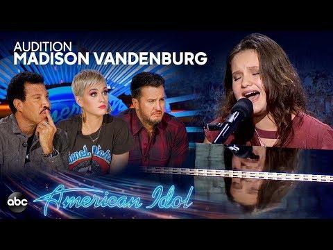 "Madison VanDenburg sing ""Speechless"" in The Auditions of American Idol Season 17"