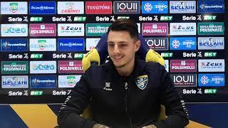 Vincenzo Millico centrocampista del Frosinone calcio