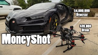 Filming a $4M Bugatti with a $20K FPV drone with a RED Camera