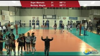 preview picture of video 'Sigel Marsala vs Betitaly Maglie 0-3'