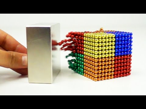 Magnetic Balls Take on Magnetic Blocks