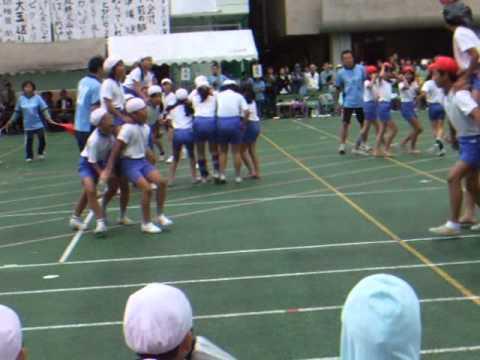 お茶の水小学校運動会〜騎馬戦〜.wmv