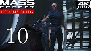 Mass Effect Legendary Edition  Walkthrough Gameplay and Mods pt10  Hostage and Major Kyle 4K 60FPS HDR Insanity