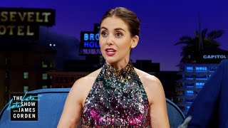 Alison Brie Broke Things At Donald Glovers Apartment