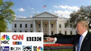 President Trump Kicks The Main Stream Media Out of the White House!!!