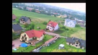 preview picture of video 'Proszowice Szpitalna Leśna z lotu ptaka 2'