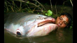 МОНСТР НА РЫБАЛКЕ ! САМЫЕ СТРАШНЫЕ МОМЕНТЫ Русалка Монстр 3 Вот это рыбалка 2018 ты не поверишь