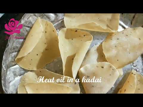 , title : 'Urad papad - prepared easily, immediately, according to requirements. Surprised-Watch this video