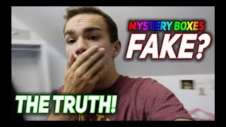 The TRUTH About 'Dark Web' Mystery Boxes... Are They FAKE?