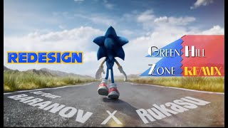 New Trailer Sonic The Hedgehog Movie   Cartoon Redesign With Classic Song   Fanmade