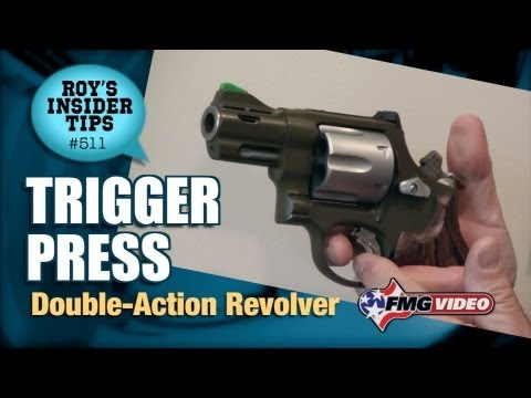 Trigger Press: Double-Action Revolver