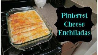 Pinterest Cheese & Chicken Enchiladas with Sour Cream White Sauce