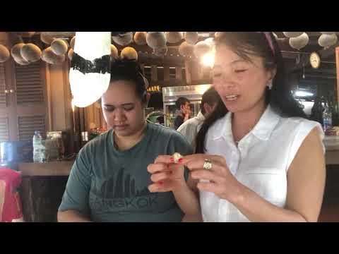 Sea cicada Phuket food