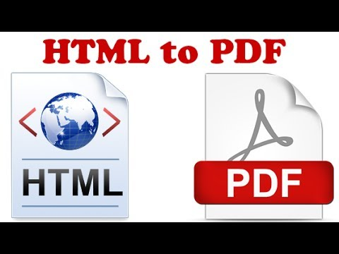 mp4 Html To Pdf Convert, download Html To Pdf Convert video klip Html To Pdf Convert