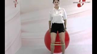 HANCHE GENOU STABILISATION ELASTIQUE BALLE Physio Www Swissorthoclinic Com