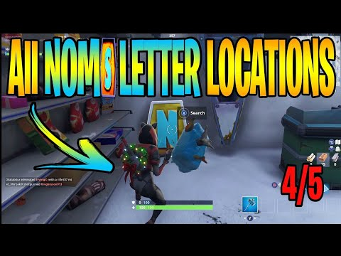 all noms sign letter locations fortnite search letters pleasant - noms letters fortnite season 7