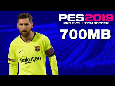 PES 2019 PPSSPP Android Offline 900MB Best Graphics New Kits
