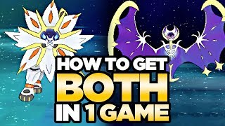 How To Get BOTH Legendary Pokemon in ONE GAME - Pokemon Ultra Sun and Moon   Austin John Plays
