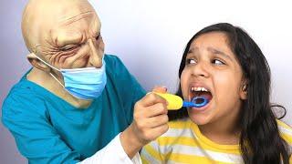 !!  Shfa does not listen to dentist