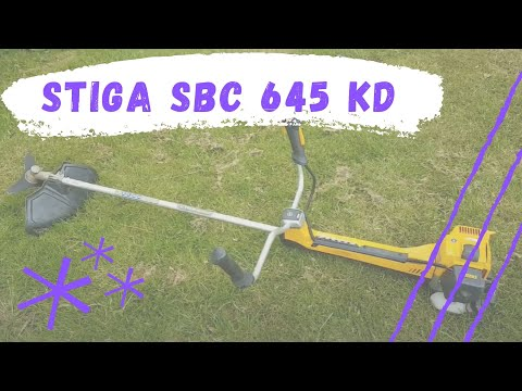 A quick review of 50cc Stiga heavy duty brushcutter