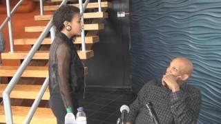 Angelique Sabrina Meets Donnie McClurkin