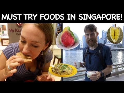 SINGAPORE DIY FOOD TOUR   Vegetarian   1st Time Trying