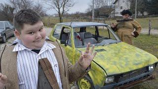 Mr Bean as a Kid Buying a Car