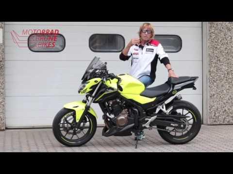 Motorrad Brune Bikes / Honda CB 500 F ABS mit viel Zubehör