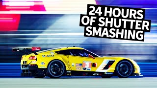 Pro Tips For Shooting (and snacking) the 24 Hours of Daytona