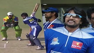 Extraordinary Batting By Kichcha Sudeep's Team | #KarnatakaBulldozers Vs #KeralaStrikers