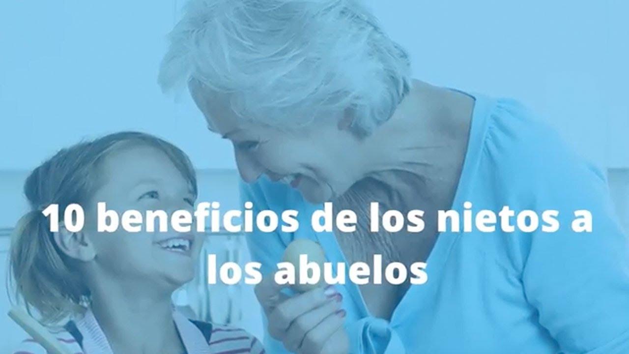 Qué beneficios aportan los nietos a sus abuelos