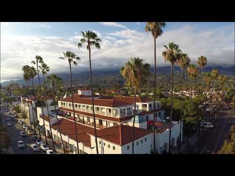 Antioch University Santa Barbara Campus Flyover