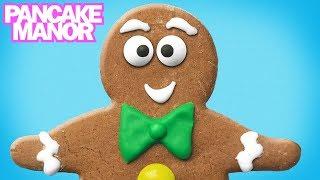 THE GINGERBREAD MAN STORY ♫| Nursery Rhyme Song For Kids| Pancake Manor