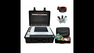 Electrical CVT Field Calibrator PT&CVT Error Measuring Meter Current Transformer Testing Equipment youtube video
