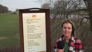 Bijzonder gedicht bij het Drongelens Kanaal