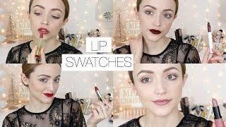 15 Favorite Affordable/ Drugstore Fall + Winter Lipsticks!