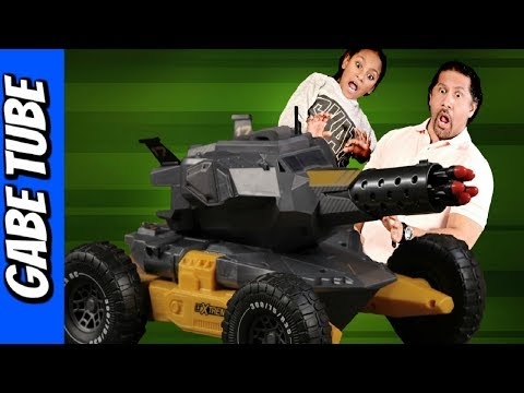 Top Toys TERRAIN RC LTXTREME LAND & WATER Remote Control REVIEW Gabe Tube TV
