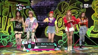 130502  4Minute - Whatever+What's Your Name @M! Countdown (Comeback Stage)