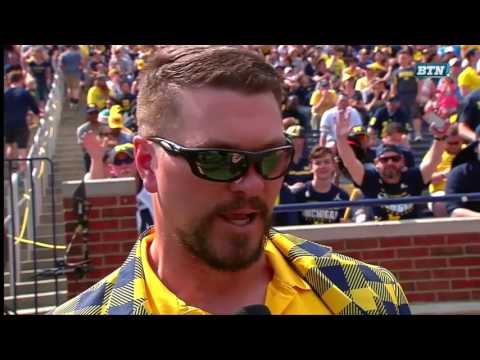 Jon Jansen Interview - Michigan Spring Football