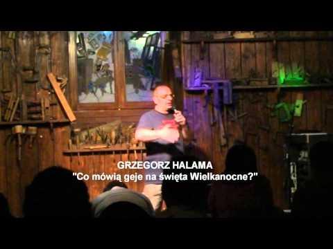 Grzegorz Halama -  Stand-up - Co mówi...
