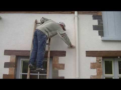 Peindre une façade - comment faire?