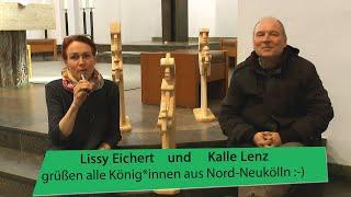 Lissy und Kalle grüßen alle König*innen aus Nord-Neukölln