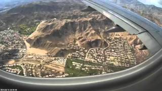 Flying into Palm Springs