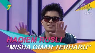 Haqiem Rusly Nyanyi Lagu Sampai Bila, Misha Omar Terharu! | Kata Serasi?