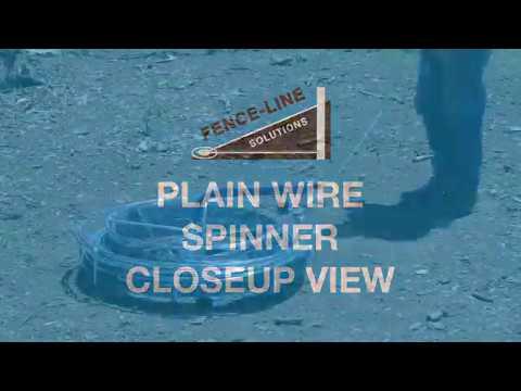 Plain Wire Spinner Closeup