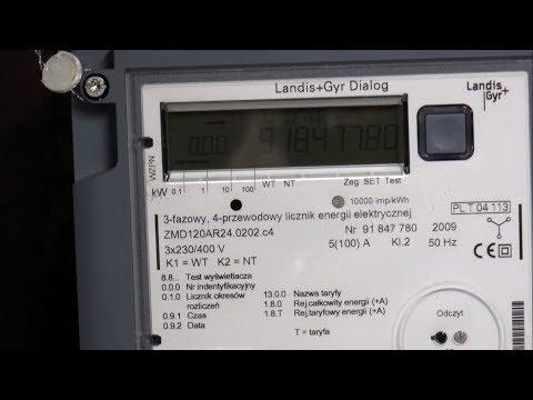 Płatność za energię elektryczną do Towarzystwa Ogrodniczego
